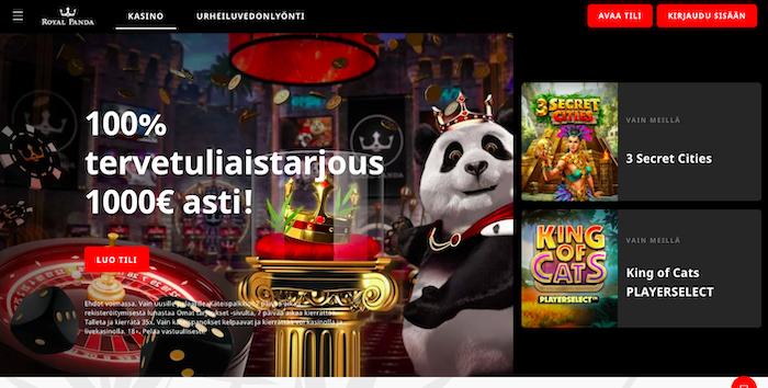 Royal Pandan bonus